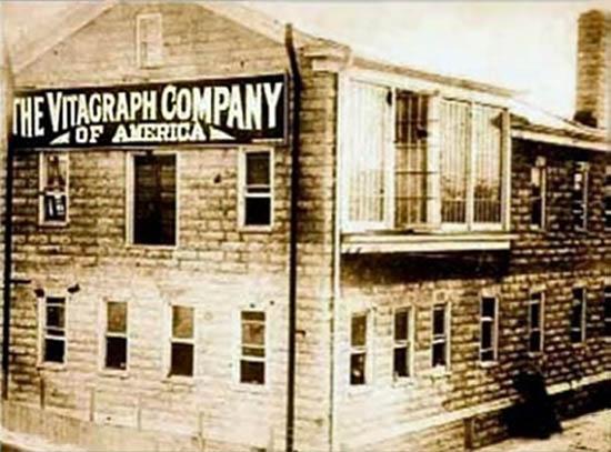 The Vitagraph Studios in Brooklyn
