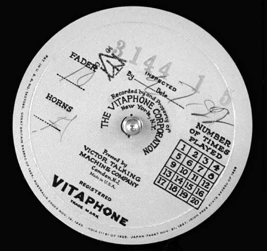 Vitaphone disc