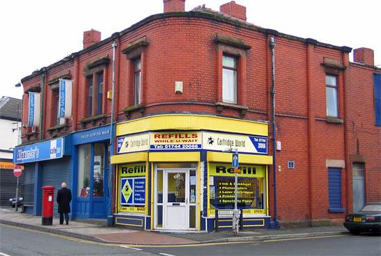 57 Duke Street, St Helens at the corner of Hamer Street where George Groves was born