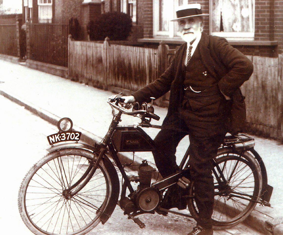 William Mundin pictured in 1921